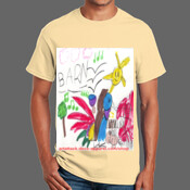 Musical Barn - 100% Cotton T-Shirt - Ultra Cotton 100% Cotton T Shirt