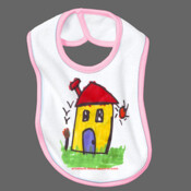 Home Sweet Home - 100% Cotton T-Shirt - Baby Bibs