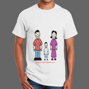 Family - Ultra Cotton 100% Cotton T Shirt